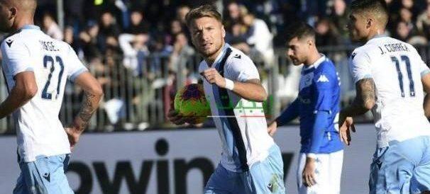 نتيجة مباراة لاتسيو وبريشيا الدوري الايطالي 29-7-2020