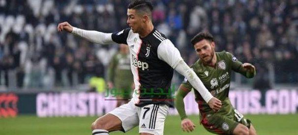 نتيجة مباراة يوفنتوس وكالياري الدوري الايطالي 29-7-2020