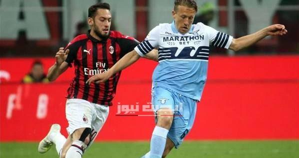 نتيجة مباراة ميلان ولاتسيو الدوري الايطالي 4-7-2020