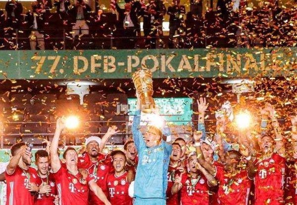 بايرن ميونخ يتوج بكأس ألمانيا للمرة العشرين في تاريخه بعد اكتساح ليفركوزن برباعية