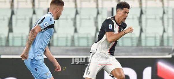 نتيجة مباراة يوفنتوس ولاتسيو الدورى الايطالي 20-7-2020