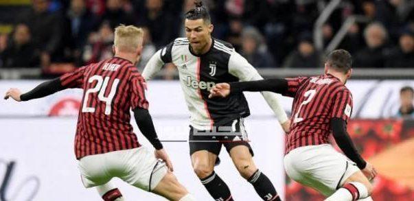 نتيجة مباراة يوفنتوس وميلان الدوري الايطالي 7-7-2020