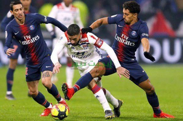 نتيجة مباراة باريس سان جيرمان وليون نهائي كأس الرابطة الفرنسية