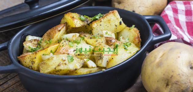 البطاطس باللحم الدايت بأسهل الطرق وأسرع وقت