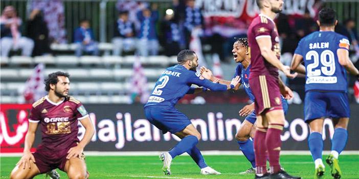 نتيجة مباراة الهلال والفيصلي الدوري السعودي للمحترفين 25-8-2020