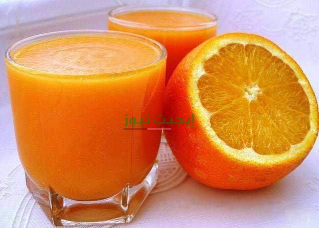 طريقة عمل عصير البرتقال بالجزر لزيادة نمو الجسم