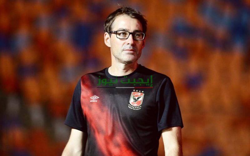 صحفي يستفز فايلر في المؤتمر الصحفي لمباراة الأهلي ونادي مصر