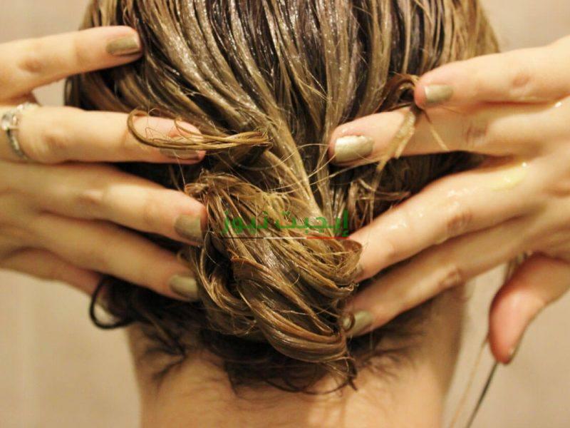 ماسك الطين الهندي لتنعيم الشعر