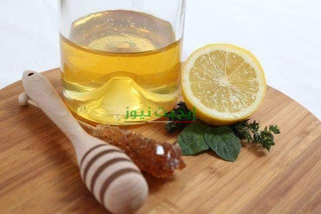 ماسك خل التفاح والليمون لتوريد الوجة طبيعيا