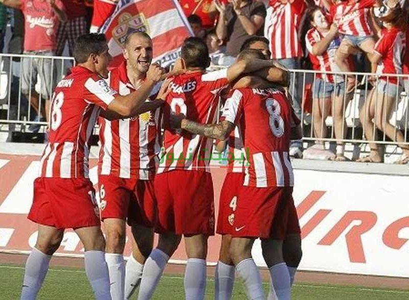 نتيجة مباراة ألميريا ولاس بالماس اليوم السبت 17-10-2020 دوري الدرجة الثانية الإسباني