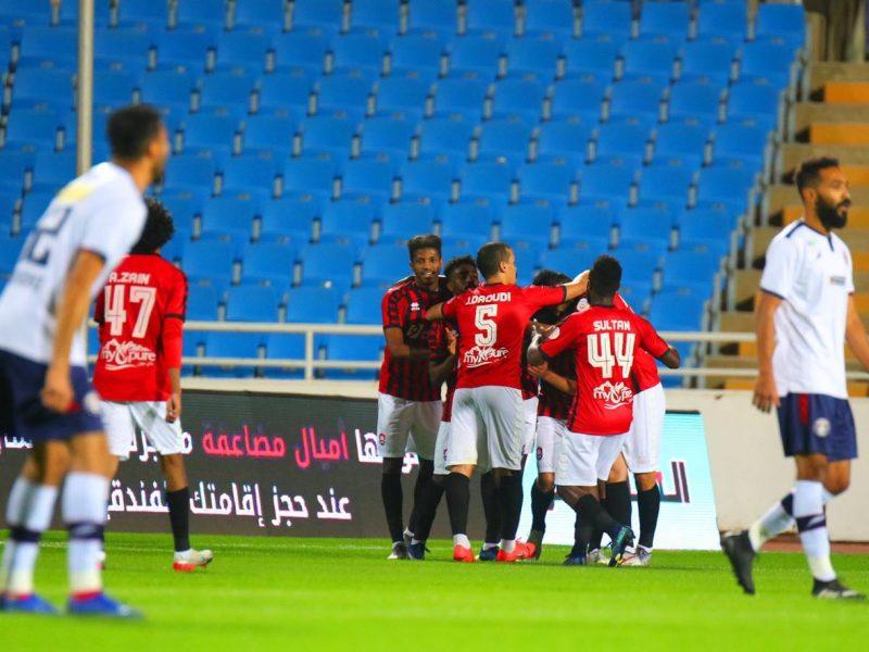 نتيجة مباراة الرائد والعدالة الدوري السعودي 29-8-2020