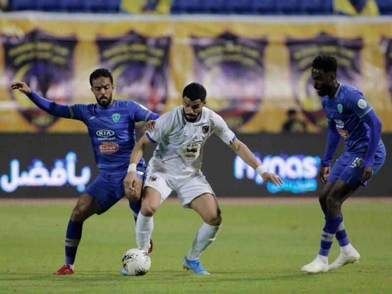 نتيجة مباراة الفتح والحزم الدوري السعودي 24-8-2020