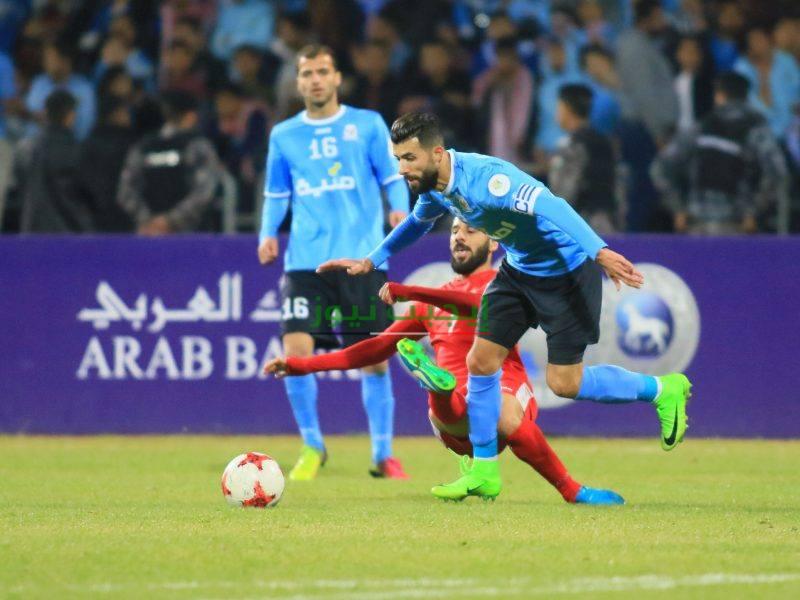 تأجيل مباراة الفيصلي والجزيرة الدوري الأردني