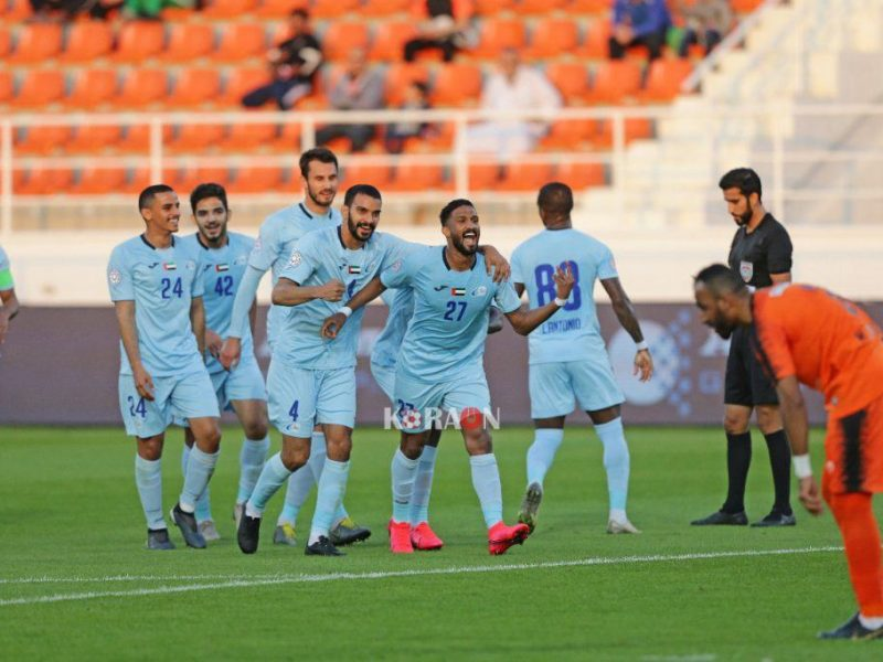 نتيجة مباراة بني ياس والظفرة دورة أندية أبوظبي 29-8-2020