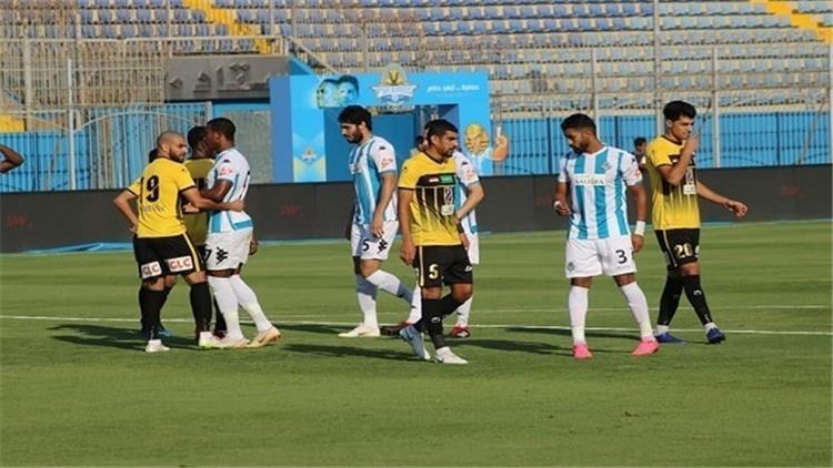 نتيجة مباراة بيراميدز والانتاج الحربي الدوري المصري 25-8-2020