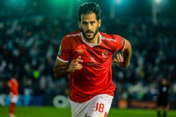 مروان محسن يتقدم للأهلي أمام انبي في الشوط الأول