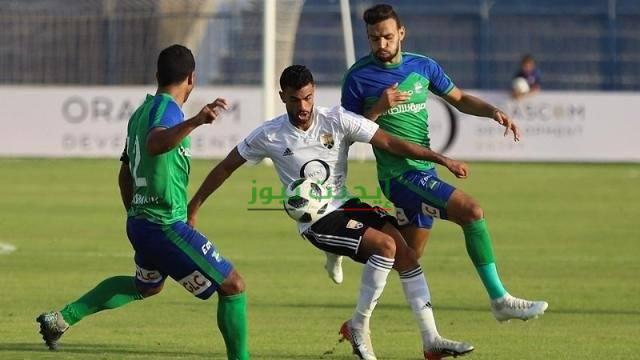 نتيجة مباراة مصر المقاصة والجونة الدوري المصري 18-8-2020