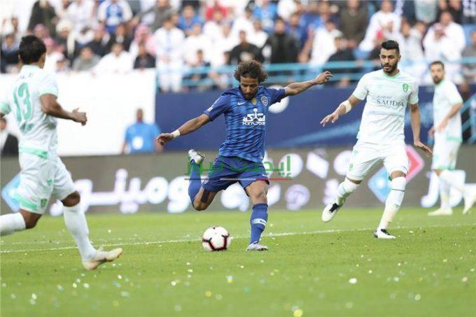 نتيجة مباراة الهلال والأهلي الدوري السعودي 20-8-2020