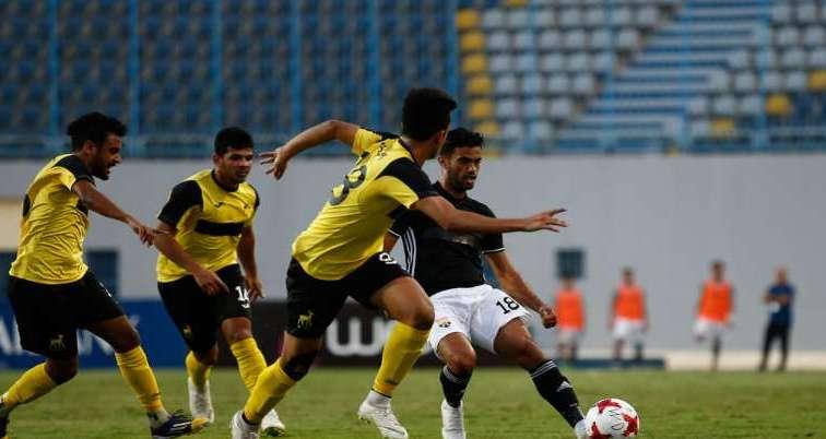 أهداف مباراة الجونة والمقاولون العرب اليوم 30-8-2020 في الدوري المصري