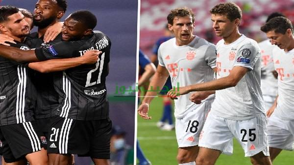 أهداف مباراة بايرن ميونخ وليون في دوري أبطال أوروبا اليوم 19-8-2020