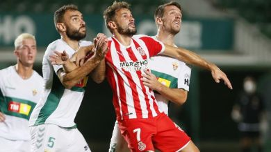 نتيجة مباراة جيرونا وإلتشي الدوري الإسباني للدرجة الثانية 23-8-2020