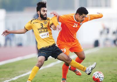 نتيجة مباراة القادسية وكاظمة الدوري الكويتي 31-8