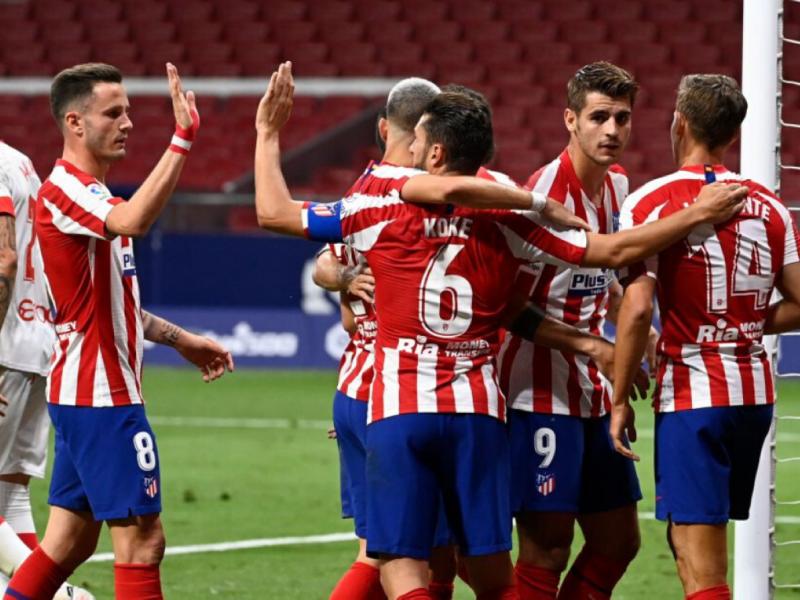 نتيجة مباراة أتلتيكو مدريد وفياريال اليوم السبت 3-10-2020 الدوري الاسباني