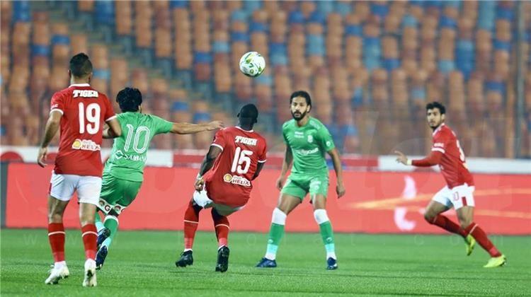 الاتحاد يتقدم على الأهلي في الشوط الأول بكأس مصر