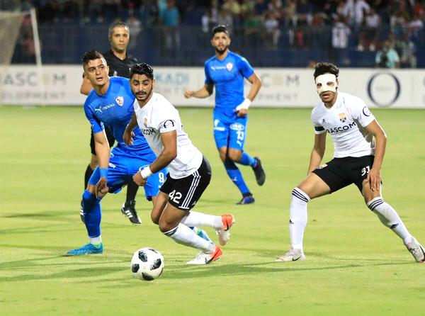 أهداف مباراة الزمالك والجونة اليوم 27-9-2020 في الدوري المصري