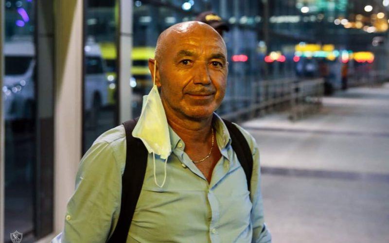 تفاصيل جلسة باتشيكو مع لاعبي الزمالك عقب الفوز على المصري
