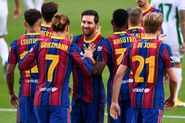 نتيجة مباراة برشلونة ودينامو كييف اليوم الثلاثاء 24-11-2020 دوري أبطال أوروبا
