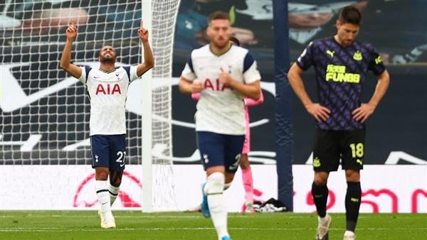 نتيجة مباراة توتنهام ونيوكاسل مسابقة الدوري الإنجليزي الممتاز