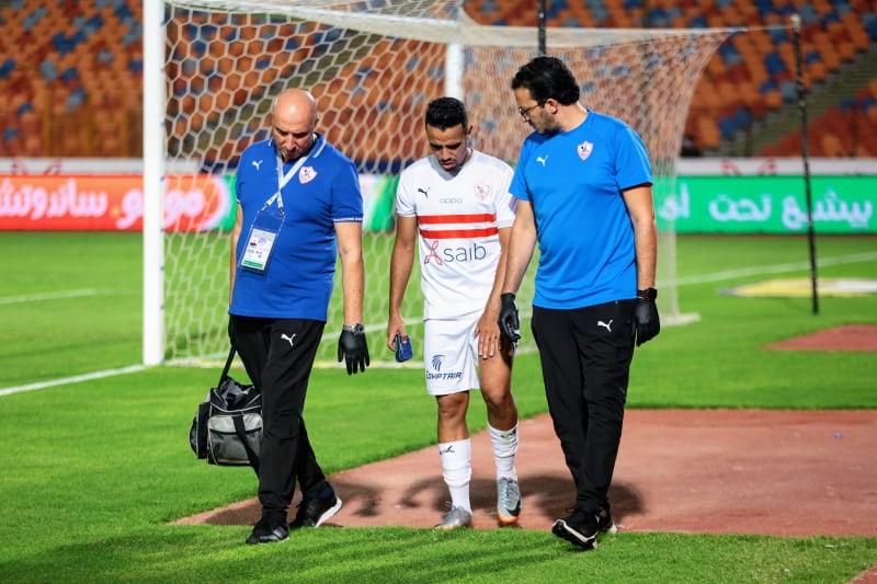 حازم إمام يغيب عن مباراة الزمالك المقبلة أمام طنطا