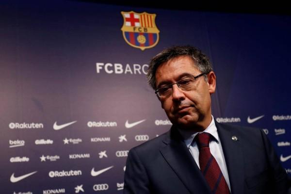 الاشتباه في إصابة رئيس برشلونة بفيروس كورونا