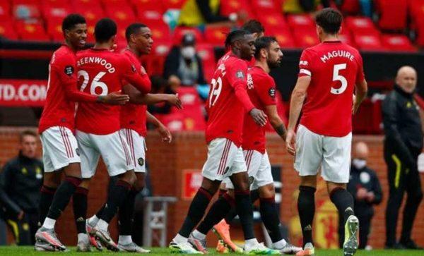 نتيجة مباراة مانشستر يونايتد ولايبزيج اليوم الاربعاء 28-10-2020 دوري أبطال أوروبا
