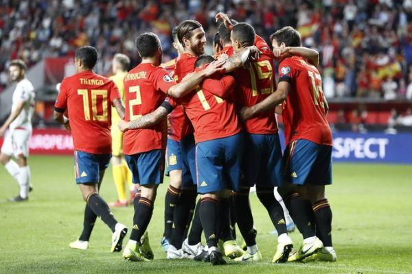 نتيجة مباراة إسبانيا وأوكرانيا اليوم الثلاثاء 13-10-2020 دوري الأمم الأوروبية
