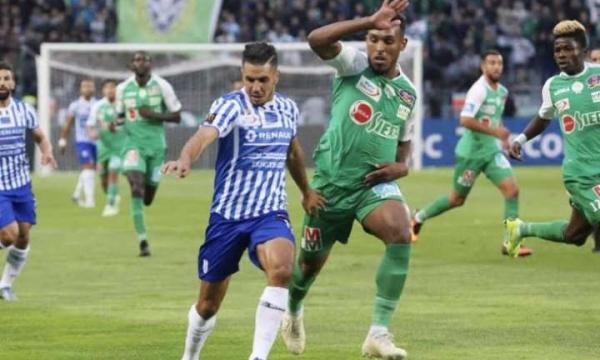 نتيجة مباراة الرجاء الرياضي وإتحاد طنجة الدوري المغربي 2-9-2020