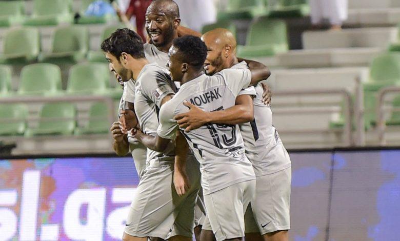 نتيجة مباراة الريان وأم صلال اليوم 14-12-2020 الدوري القطري