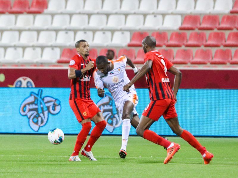تأجيل مباراة الفجيرة وعجمان كأس الخليج العربي الإماراتي