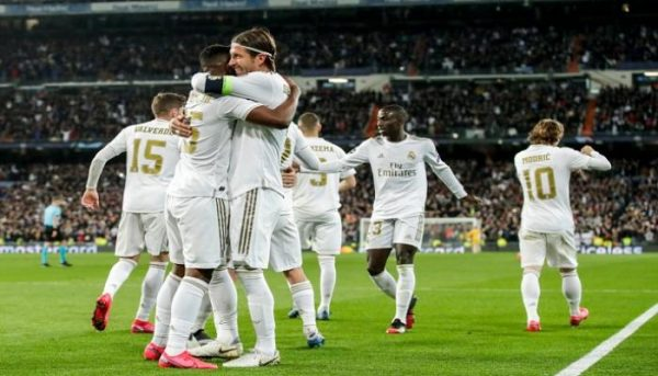 نتيجة الشوط الأول مباراة ريال مدريد وانتر ميلان دوري أبطال أوروبا