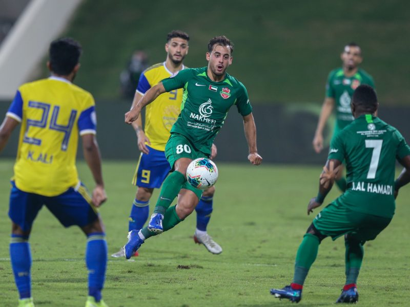 نتيجة مباراة شباب الأهلي دبي والظفرة اليوم الجمعة 13-11-2020 كأس الخليج العربي الإماراتي