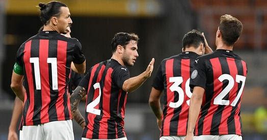 نتيجة مباراة ميلان وباسانو فيرتوس 9-9-2020
