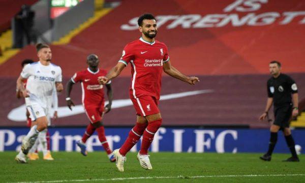 محمد صلاح يواصل كتابة التاريخ ويدخل نادئ المئة مع ليفربول