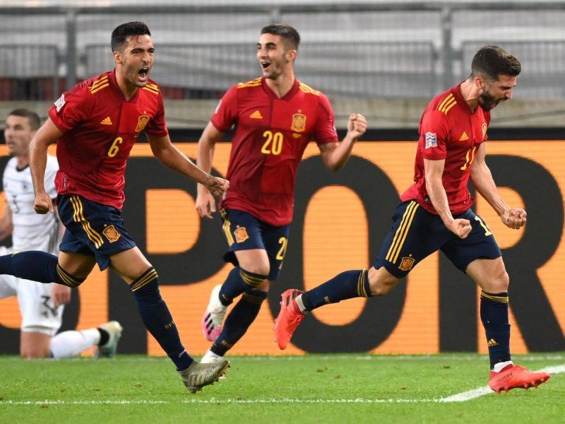 نتيجة مباراة إسبانيا وسويسرا اليوم السبت 10-10-2020 دوري الأمم الأوروبية