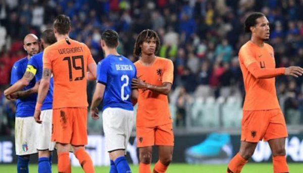 نتيجة مباراة إيطاليا وهولندا اليوم الاربعاء 14-10-2020 دوري الأمم الأوروبية