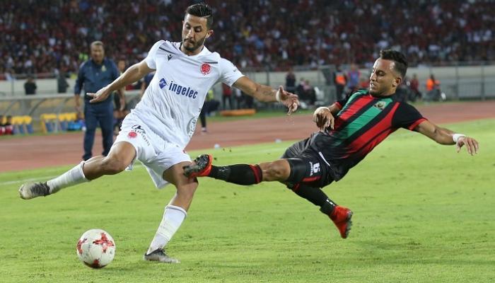 نتيجة مباراة الوداد المغربي والجيش الملكي الدوري المغربي 9-9-2020