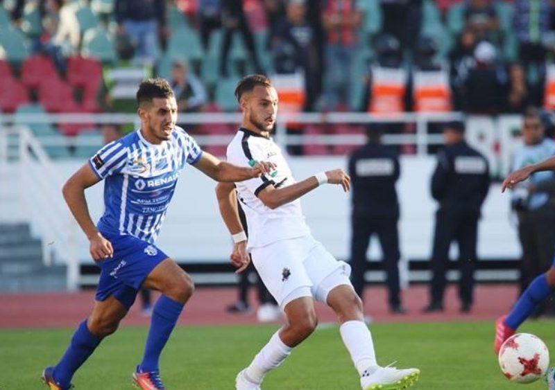 نتيجة مباراة الجيش الملكي واتحاد طنجة الدوري المغربي