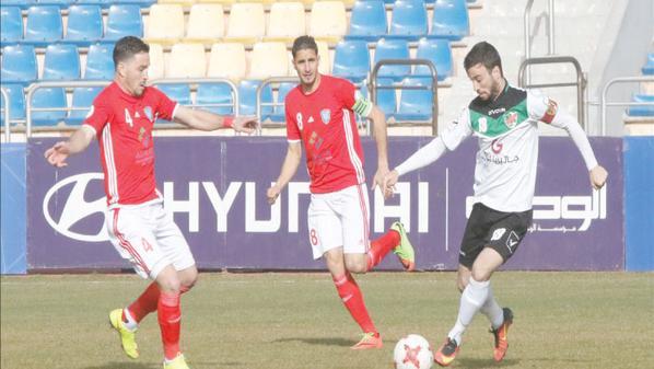 نتيجة مباراة شباب العقبة والأهلي الدوري الاردني