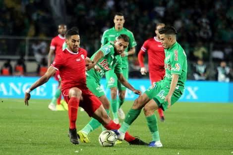 نتيجة مباراة الرجاء الرياضي ومولودية وجدة اليوم الأربعاء 30-9-2020الدوري المغربي