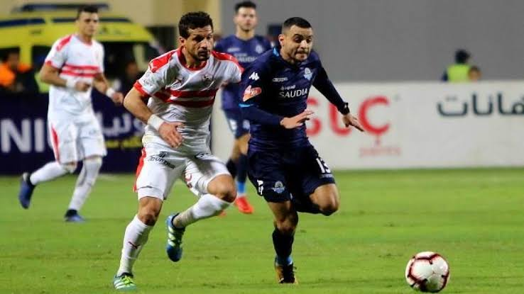 نتيجة مباراة الزمالك وبيراميدز الدوري المصري 3-9-2020